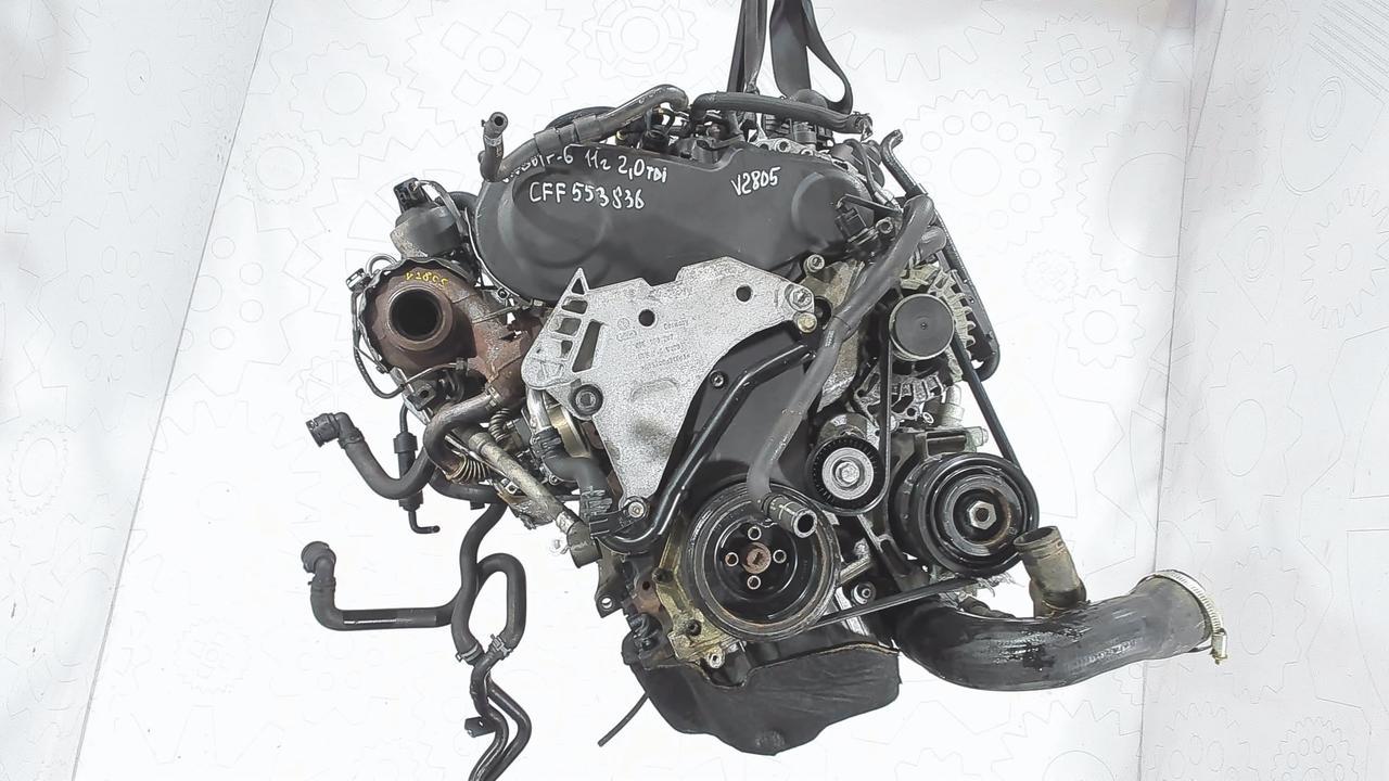 Двигатель (ДВС) Volkswagen Golf 6  2 л Дизель