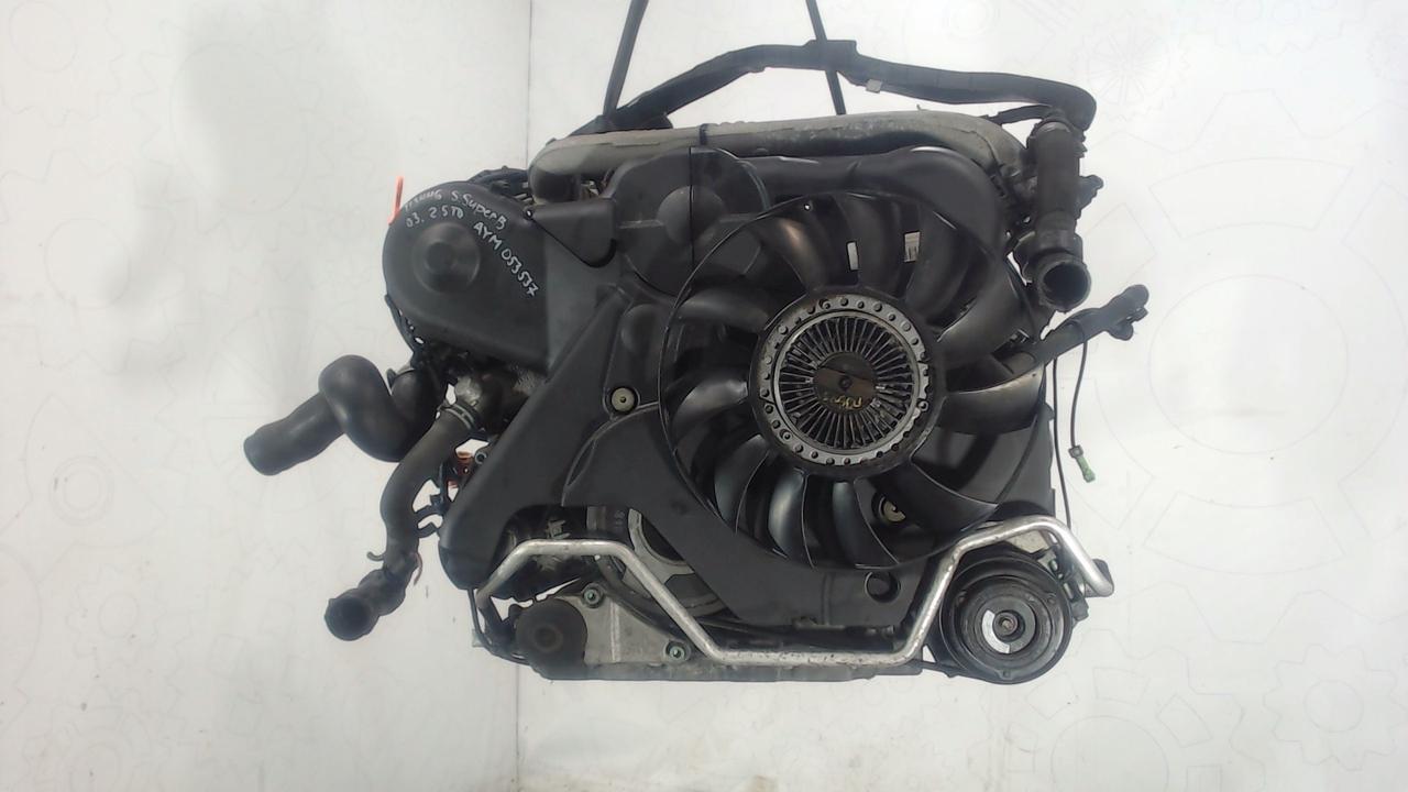 Двигатель (ДВС) Skoda SuperB  2.5 л Дизель