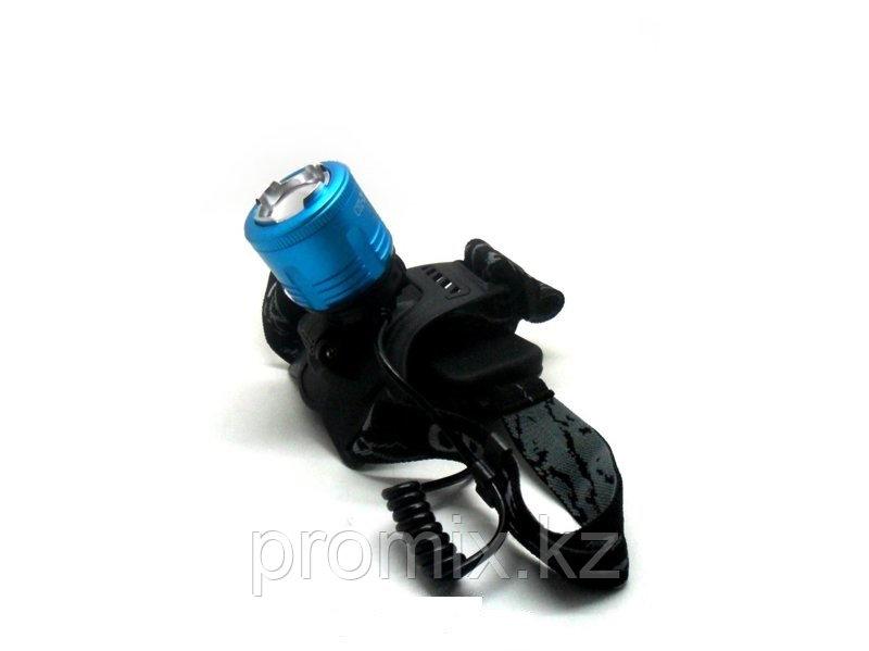 Налобный фонарь HIGH POWER HEADLAMP CYZ-F11 (синий)