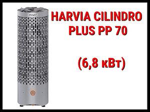 Электрическая печь Harvia Cilindro Plus PP 70 со встроенным пультом