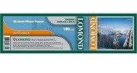 Бумага Lomond XL Matt Paper, 1520 х 50,8 мм, 180 г/м2, 30 метров (арт. 1202096)