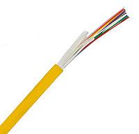 Кабель волоконно-оптический Siemon XGLO, Tight Buffer, 24хОВ, OS2 9/125, LSOH, Ø 8,8мм, 1000м, катушка, небронированный, цвет: жёлтый