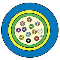Кабель волоконно-оптический Siemon XGLO, Central Tube, 12хОВ, OM3 50/125, LSZH, Ø 7,5мм, водоблокирующие ленты, цвет: синий