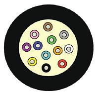 Кабель волоконно-оптический Siemon XGLO, Tight Buffer, 12хОВ, OM4 50/125, LSZH, Ø 6,2мм, 1м, небронированный, цвет: чёрный