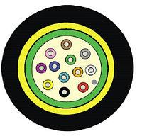 Кабель волоконно-оптический Siemon XGLO, Central Tube, 12хОВ, OM3 50/125, LSZH, Ø 7,7мм, водоблокирующие ленты, цвет: чёрный