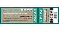 Бумага Lomond XL Uncoated Paper, ролик 620 мм, 80 г/м2, 17.5 метров (арт. 1209121)
