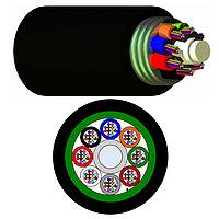 Кабель волоконно-оптический Nexans LANmark-OF, Multi Tube, 96хОВ, OS2 G.652, PE, Ø 12,9мм, 1070м, катушка, гофрированная стальная лента, цвет: чёрный