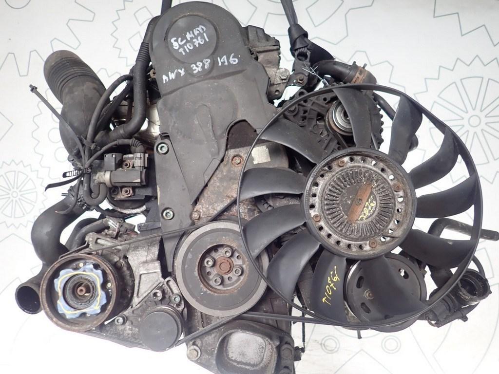 Двигатель (ДВС) Audi A6 (C5)  1.9 л Дизель