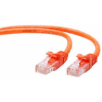 Шнур коммутационный Panduit, кат. 5е, неэкр., U/UTP, RJ45/RJ45, 100 МГц, 0.5м, PVC, AWG24, оранжевый,