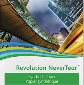 Бумага Xerox Revolution NeverTear, A4, 195 мкм, 50 листов (арт. 450L60010)