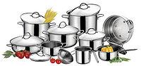 Наборы посуды и кастрюль