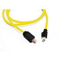 Шнур коммутационный Nexans LANmark Industry, кат. 6, экр., S/FTP, RJ45/RJ45, d 6,5, 1.5м, PVC, жёлтый, N10i.E34DJ