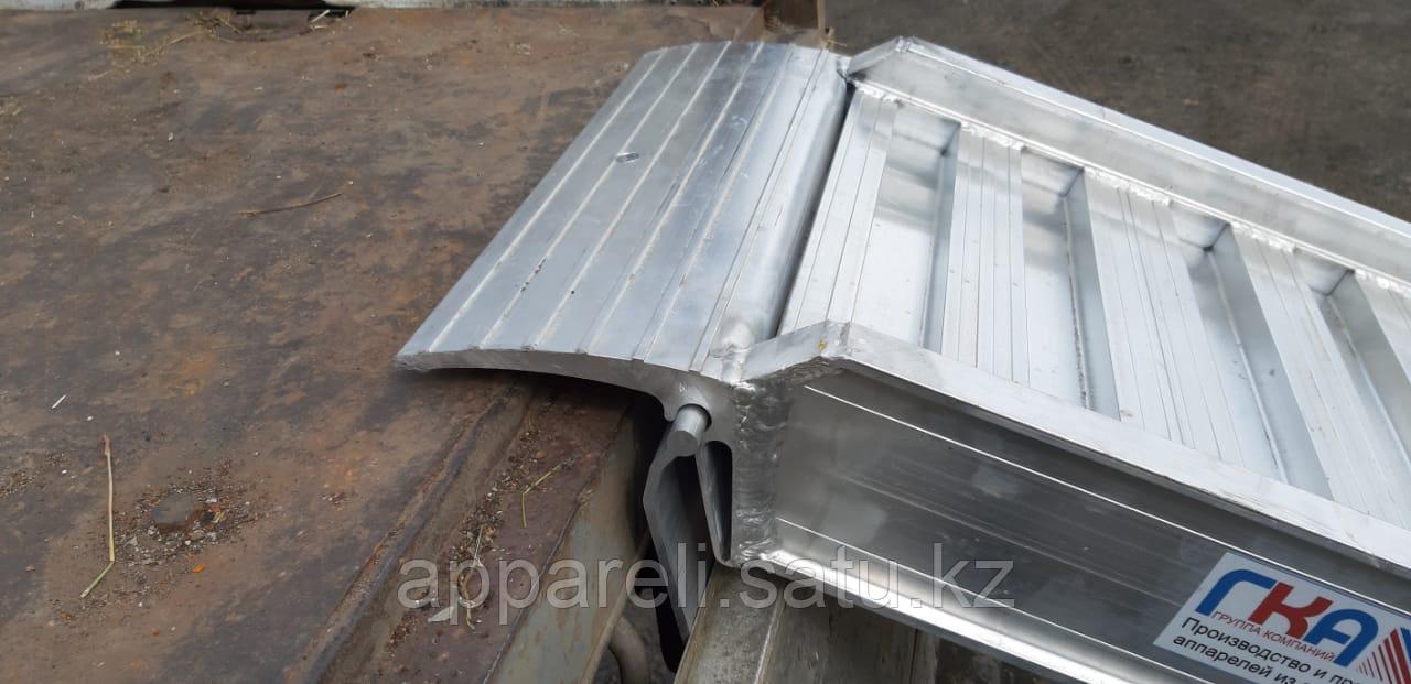 Производство трапов сходней алюминиевых 5800 кг