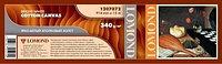 Холст Lomond Холст LOMOND хлопковый, ролик 914 мм х 50.8 мм, 340 г/м2, 15 метров (арт. 1207072)