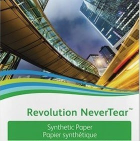 Бумага Xerox Revolution NeverTear, SRA3, 195 мкм, 50 листов (арт. 450L60008)