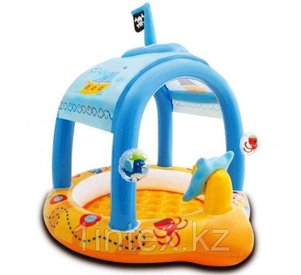 Детский бассейн Корабль с навесом