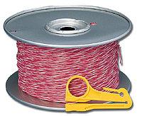 Кабель витая пара Siemon, U/UTP, 1 пар., кат. 5е, Ø 1мм, AWG24, без оболочки, 160МГц, 1м бухта 305м, тип прокладки: внутри зданий, цвет: красный