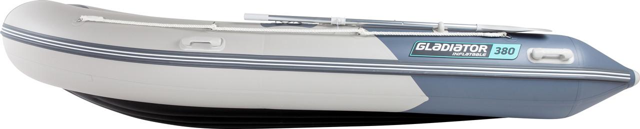 Надувная лодка GLADIATOR E380LT