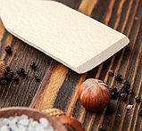 Лопатка кухонная из массива бука 27,5 см, фото 3