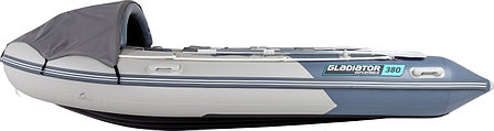 Надувная лодка GLADIATOR E380, фото 2