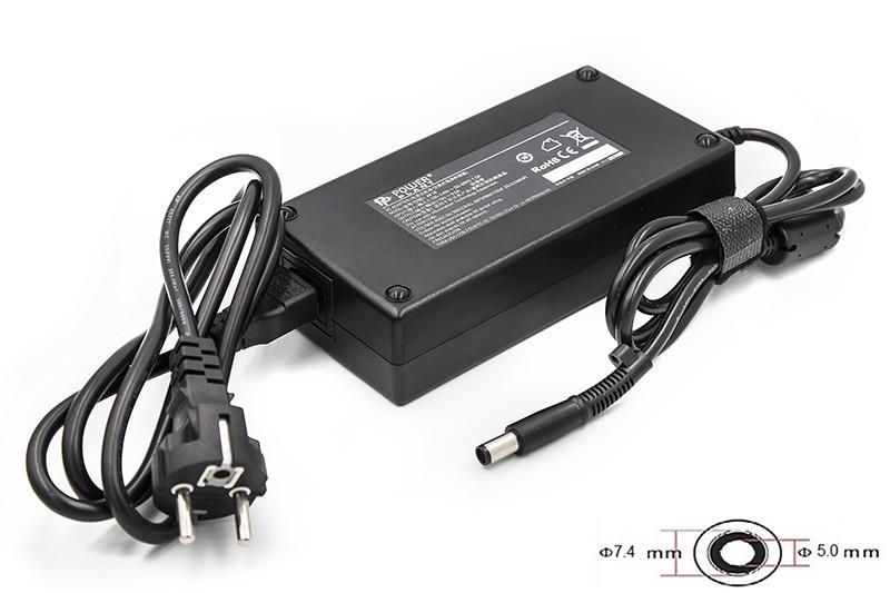 Блок питания для ноутбуков PowerPlant HP 220V, 19V 180W 9.5A (7.4*5.0)