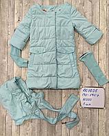 Куртки, ветровки и парки для девочек