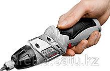 Отвертка аккумуляторная ЗУБР ЗО-3.6-Ли КН43, реверс, регулировка крутящего момента, фиксация шпинделя, фото 3