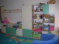 Мебель в детском саду - шкаф под игрушки