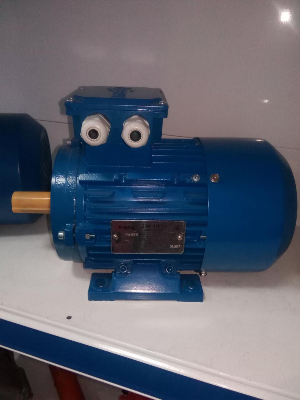Электродвигатель переменного тока  АИР63В6 0.25кВт-1000об/мин