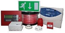 Монтаж пожарной сигнализации.