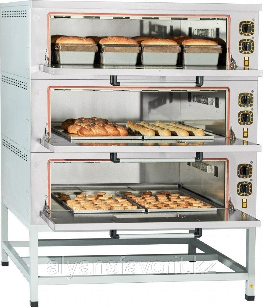 Подовый пекарский шкаф ABAT ЭШП‑3 (320 °C)