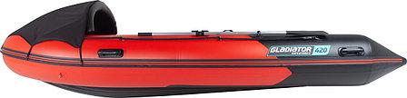 Надувная лодка GLADIATOR E420, фото 2