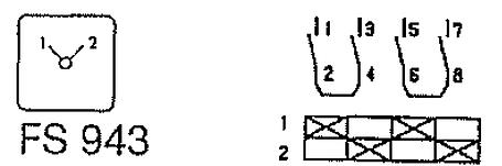 Переключатель кулачковый T3-2-8221/E Moeller, фото 2