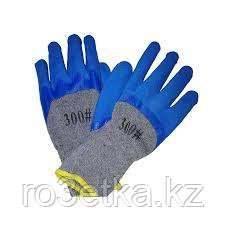 Перчатки рабочие рифленый латекс  София (тачстоун)