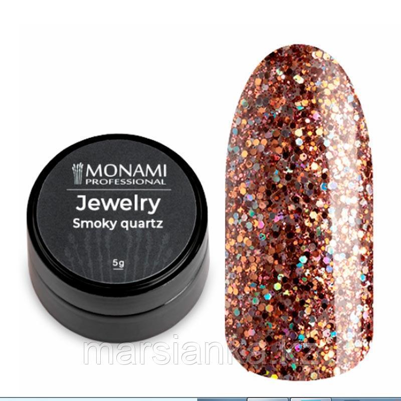 Гель-лак Monami Jewelry Smoky quartz, 5 гр