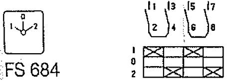 Переключатель кулачковый T0-2-8211/IVS Moeller, фото 2