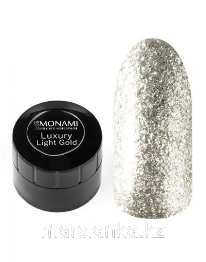Гель-лак Monami Luxury Light Gold, 5гр