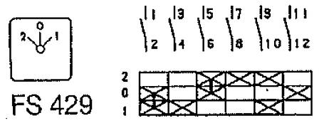 Переключатель кулачковый T0-3-15391/E Moeller, фото 2