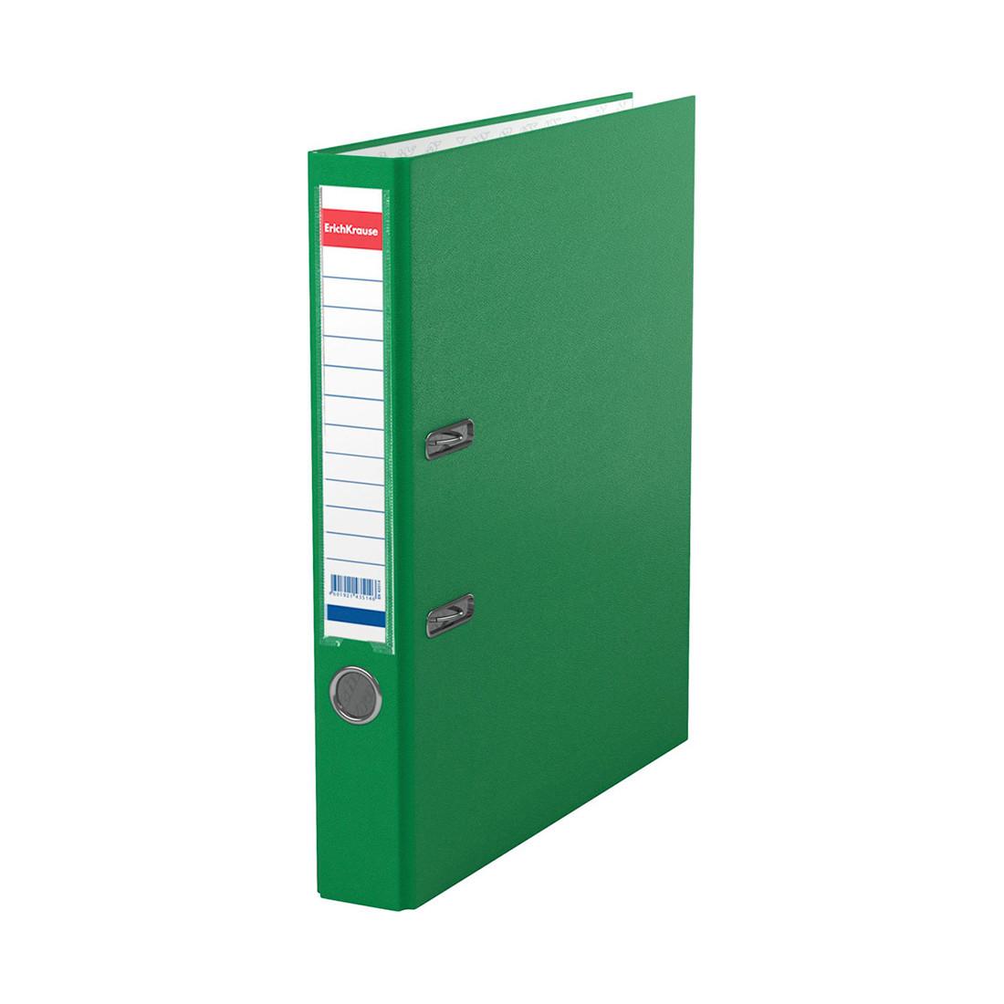 Папка–регистратор с арочным механизмом ErichKrause Granite (50 мм, А4, Зеленый)