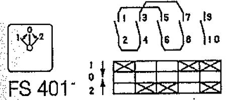 Переключатель кулачковый T0-3-8228/E Moeller, фото 2