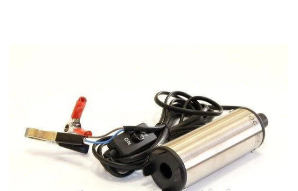 Насос погружной , 12В с фильтром , для дизельного топлива , произ-ть-35л/мин