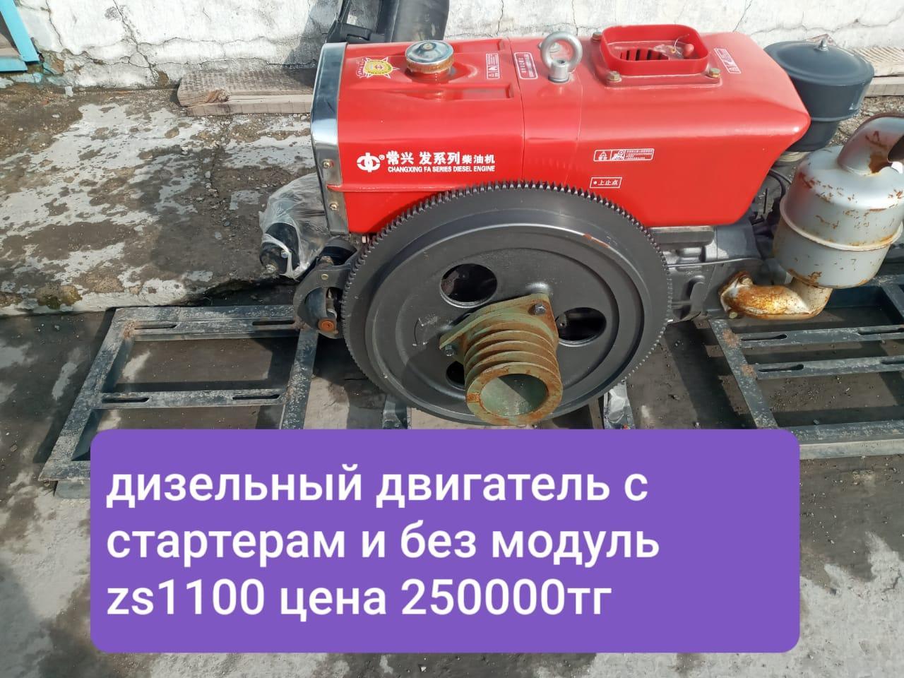 Дизельный двигатель ZS1100
