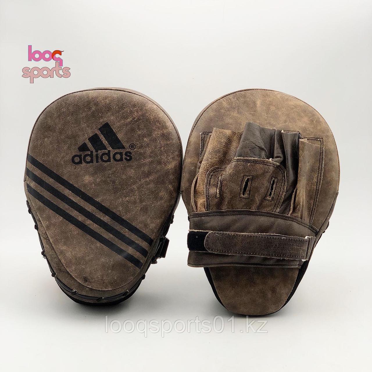 Боксерские лапы (кожа) Adidas