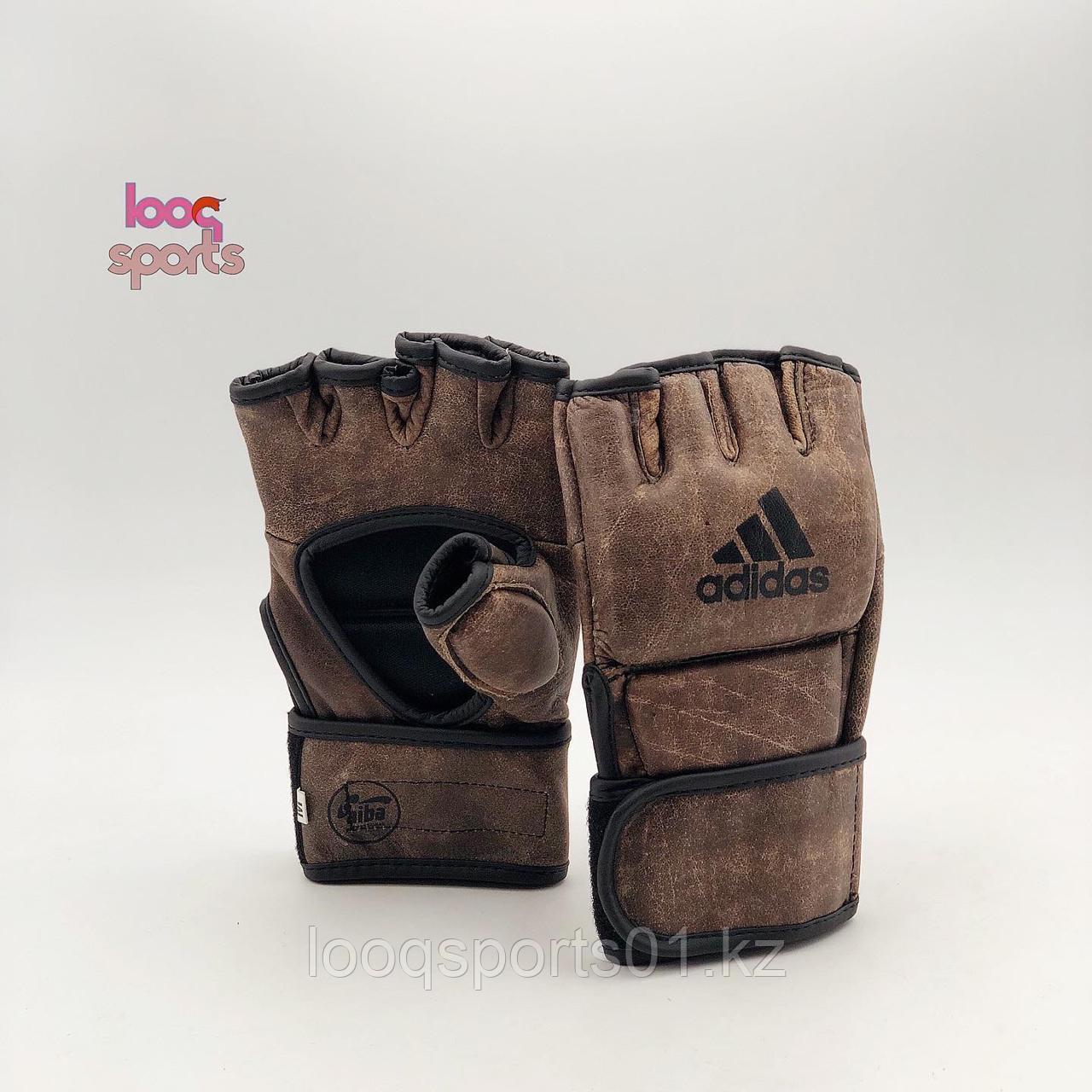 Перчатки для мма и единоборств кожа Adidas