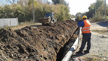 Устройство внутренних и наружных сетей канализации и водоснабжения АФ ТОО «SinoOil» 1