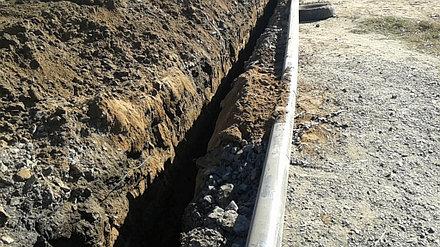 Устройство внутренних и наружных сетей канализации и водоснабжения АФ ТОО «SinoOil» 2