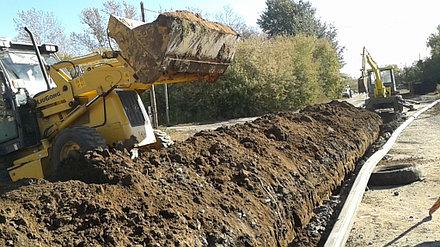 Устройство внутренних и наружных сетей канализации и водоснабжения АФ ТОО «SinoOil» 3