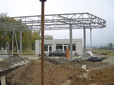 Строительство новой Автозапрвочной станции в п. Касыма Кайсенова