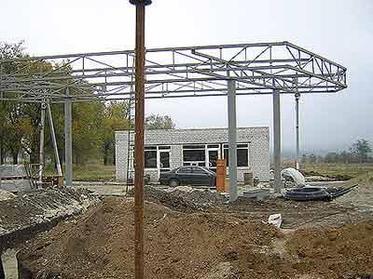 Строительство новой Автозапрвочной станции в п. Касыма Кайсенова 1