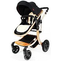 Детская коляска Aimile 608 2 в 1 черный